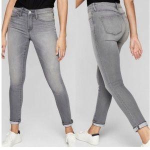 Athleta   Sculptek Skinny Jeans Gray Slim Leg
